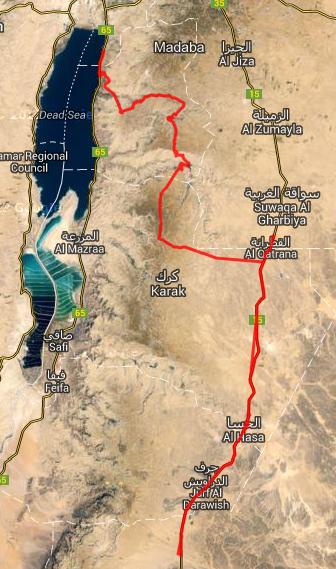 Route Rallyetag 20